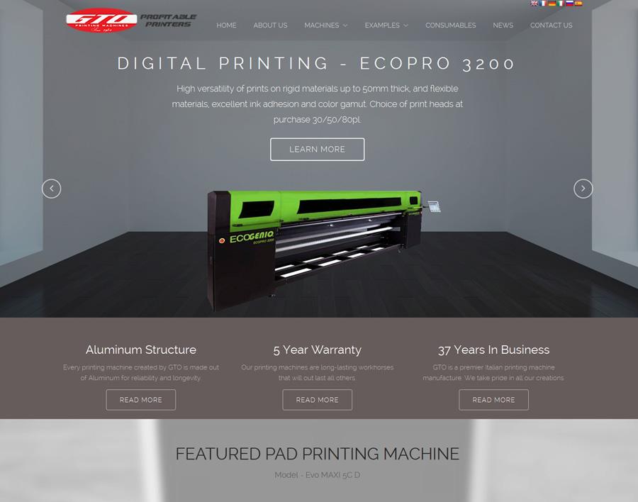 GTO-web design