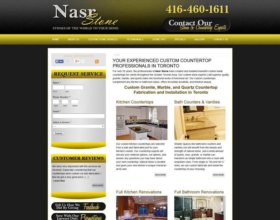 Nasrstone-web design