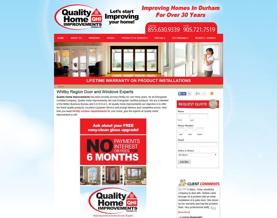 Quality Home-web design