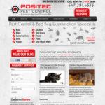 Positec-web design