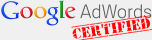We are Google Adwords certified