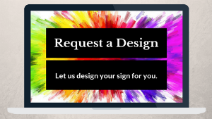 request a lawn sign here