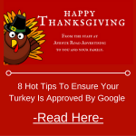8 Hot Tips to Ensure your Turkey is Approved by Google