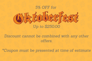 Oktoberfest coupon - seasonal promotion example